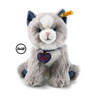 2017 Steiff 084430 DENIM DARLINGS PAWS CAT