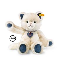 2017 Steiff 084447 DENIM DARLINGS MIAU CAT