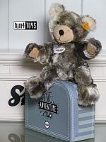 2018 Steiff 109911 LOMMY TEDDY BEAR IN SUITCASE