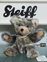 2017 Steiff 109928 LOMMY TEDDY BEAR GREY BEIGE SOFT PLUSH