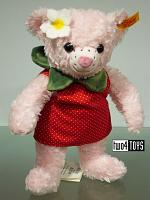 2017 Steiff 113628 PICNIC FRIENDS ROSE STRAWBEARRY TEDDY BEAR