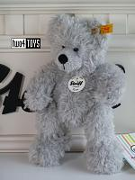 2021 Steiff 113772 FYNN TEDDY BEAR 18 CM GREY PLUSH 2019