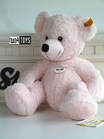 Steiff 113826 LOTTE TEDDY BEAR PINK SOFT PLUSH LARGE 2019