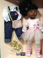 2021 Gotz 1159850 AFRO-AMERICAN HANNAH AT THE BALLET DOLL