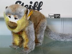 Steiff 120053 JUMPING MONKEY MULTICOLORED PLUSH 2003