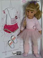 2020 Gotz 1359067 HANNAH AT THE BALLET PLAY DOLL