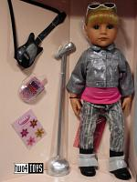 2017 Gotz 1359070 HANNAH AS A ROCK STAR PLAY DOLL