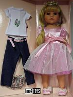 2018 Gotz 1359072 HANNAH AS A PRINCESS PLAY DOLL