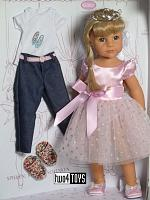 2020 Gotz 1359072 HANNAH AS A PRINCESS PLAY DOLL