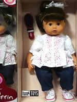2017 Gotz 1427174 MAXI MUFFIN BRUNETTE PLAY DOLL