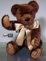 2007 Hermann 14630-6 HANNELORE 80th ANNIVERSARY TEDDY BEAR