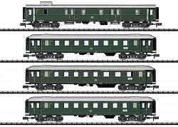 2021 Minitrix 15015 LIMITED STOP FAST TRAIN CAR SET