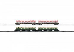Minitrix 15071 SWISS AAE CARGO AG AWILOG HOPPER CARS SET 2011