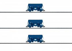 Minitrix 15089 NS DUTCH SIDE DUMP CAR FREIGHT CAR SET 2015
