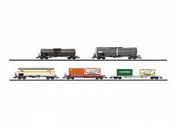 Minitrix 15254 MODERN RAILROADING ERA V FREIGHT CARS 2008