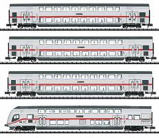 2020 Minitrix 15385/15386 DB AG IC 2 BI-LEVEL PASSENGER CAR SET