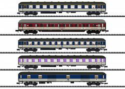 "2020 Minitrix 15473 ""D 730"" EXPRESS TRAIN PASSENGER CAR SET"