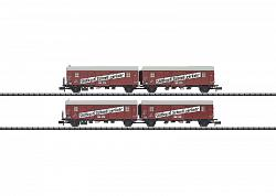 Minitrix 15512 DB LEIG-EINHEIT LIGHTWEIGHT FREIGHT CAR SET 2009