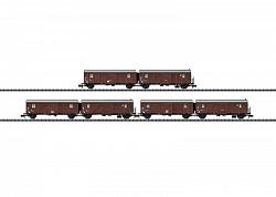 Minitrix 15515 DB TYPE Hrs-z330 LIGHT FREIGHT CAR TRAIN SET 2012