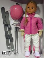2018 Gotz 1566033 HAPPY KIDZ LENA AT ASPEN LIM.ED. 500 DOLL