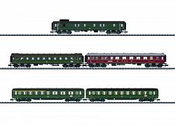 2018 Minitrix 15680 D 182 EXPRESS TRAIN CAR SET