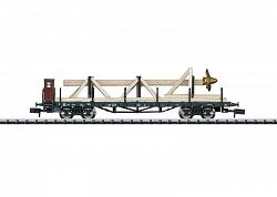 2017 Minitrix 15928 DB FLAT CAR W. SHIP'S PROPELLER FREIGHT LOAD