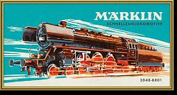 Marklin 15965 PAINTING BY NUMBERS 3048 CLASS O1 STEAM LOCO