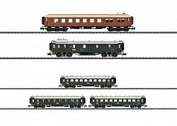 Minitrix 15966 │ 15967 DRG BAVARIAN EXPRESS TRAIN SET IN 1925