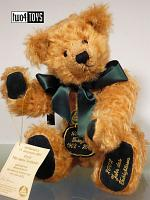 2002 Hermann 15971-9 CENTI TEDDY OF THE YEAR 100 YEARS OF TEDDY