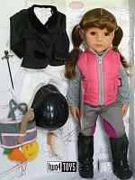 2018 Gotz 1859087 HANNAH LOVES HORSEBACKRIDING PLAY DOLL