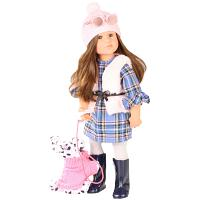 2018 Gotz 1866465 LILLY AT LONDON HAPPY KIDZ DOLL