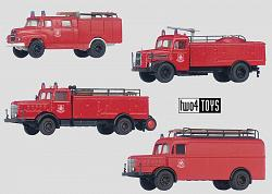 Marklin 18750/18751/18752/18753 FIRE DEPT. TRUCK SET