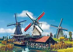 "Faller 190228 DUTCH DYE WINDMILL ""THE CAT"""