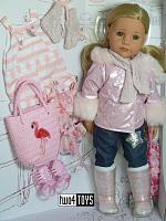 2021 Gotz 1959093 HANNAH ALL YEAR ROUND PLAY DOLL