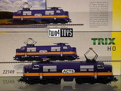 Trix 22149 DUTCH NS ACTS CLASS 1200 ELECTRIC LOCOMOTIVE 2008