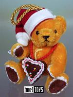 Hermann 22229-1 GINGERBREAD SANTA CHRISTMAS ORNAMENT 2004 L.E.