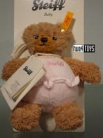 Steiff 237362 SLEEP WELL BEAR PINK WITH MUSIC BOX