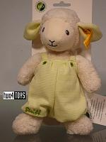 Steiff 237393 LENNY LAMB CUDDLY SOFT COTTON