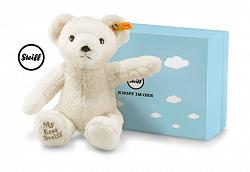 2017 Steiff 241376 MY FIRST STEIFF TEDDY BEAR CREAM IN GIFT BOX