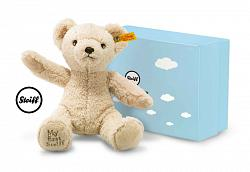 2017 Steiff 241383 MY FIRST STEIFF TEDDY BEAR BEIGE IN GIFT BOX