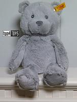 2018 Steiff 241543 SOFT CUDDLY FRIENDS BEARZY TEDDY BEAR GRAY
