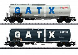 2021 Trix 24213 GATX DUTCH NL LOTOS TANK CAR SET