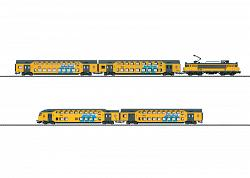 Marklin 26596 NS DELTA LLOYD BI-LEVEL COMMUTER TRAIN SET