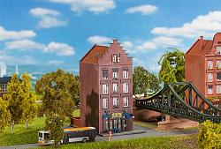 "Faller 292650 N-SCALE DUTCH BICYCLE SHOP ""JAN WILD"""