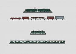 Marklin 29814.1 MEGA SBB DIGITAL PASSENGER/FREIGHT TRAIN SET