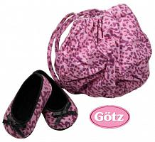 2018 Gotz 3401891 LEO-LOOK BALLERINA SHOES SET W. BAG SIZE M/XL