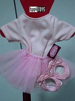 Gotz 3401929 BALLET SET: SUIT, TUTU & BALLERINA SHOES
