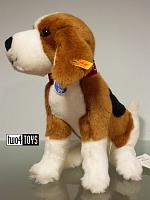 2017 Steiff 355028 NELLY THE BEAGLE CUDDLY SOFT PLUSH