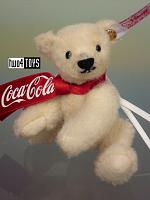 Steiff 355318 COCA-COLA POLAR BEAR ORNAMENT