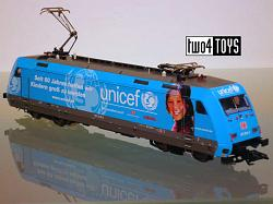 Marklin 37399 DB CLASS 101 UNICEF ELECTRIC LOCOMOTIVE